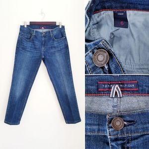 TOMMY HILFIGER Cropped Jeans, 6